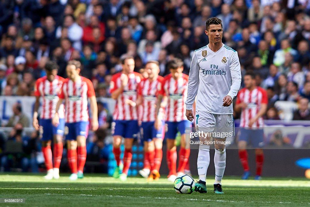Real Madrid v Atletico Madrid - La Liga : News Photo