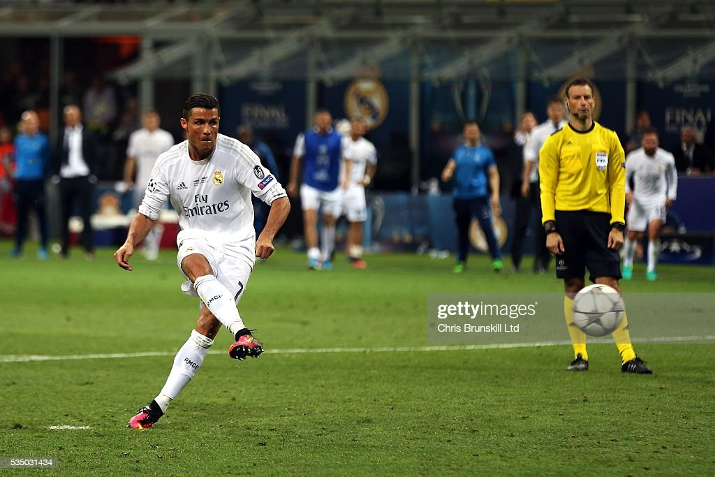 Real Madrid v Club Atletico de Madrid - UEFA Champions League Final : News Photo