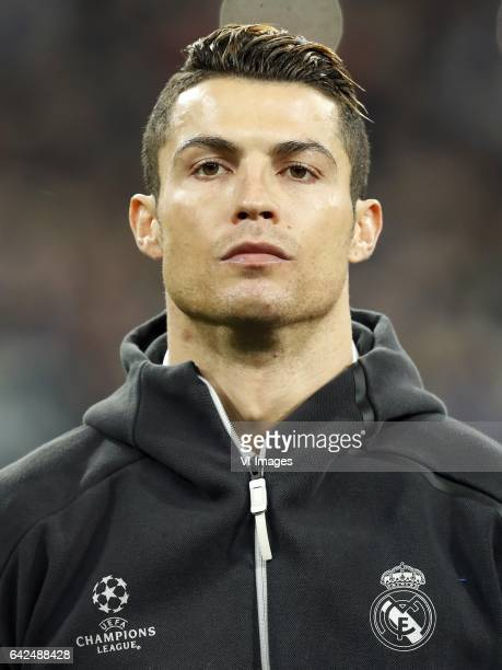 Cristiano Ronaldo of Real Madridduring the UEFA Champions League round of 16 match between Real Madrid and SSC Napoli on February 14 2017 at the...