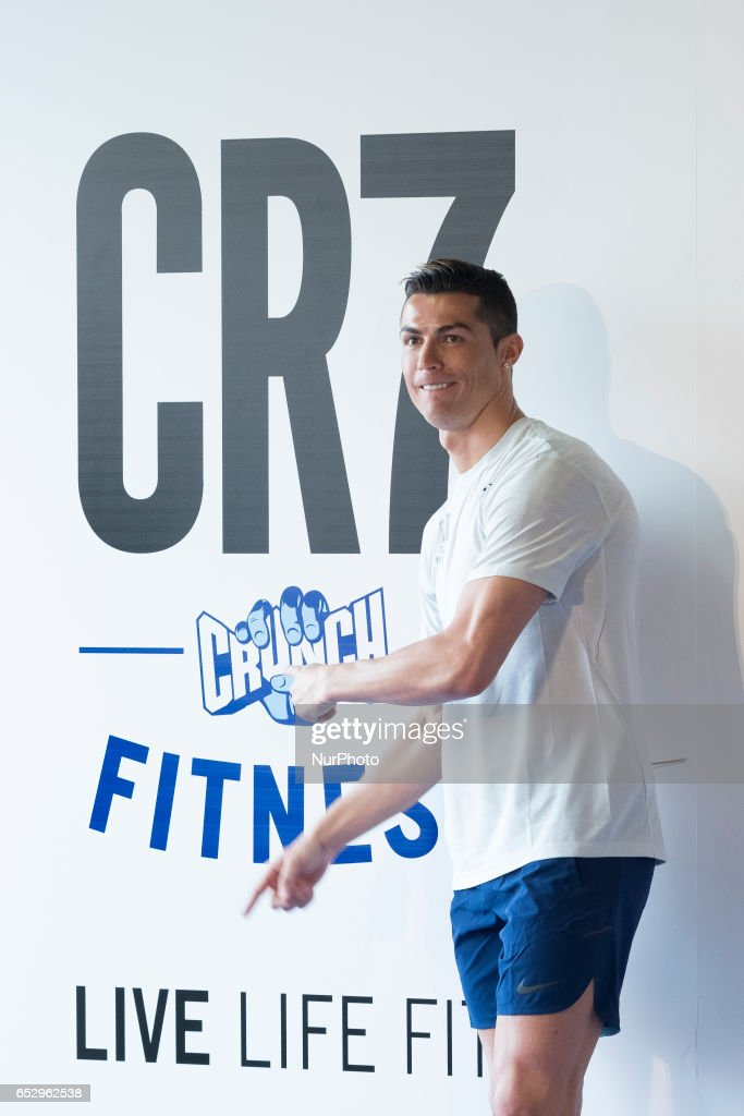 Cristiano Ronaldo Presents CR7 Fitness Gyms