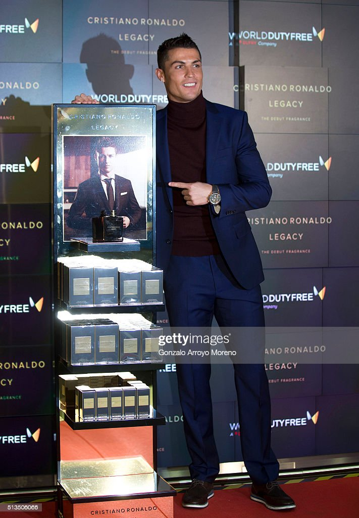 Cristiano Ronaldo Presents His Fragrance 'Cristiano Ronaldo' Legacy