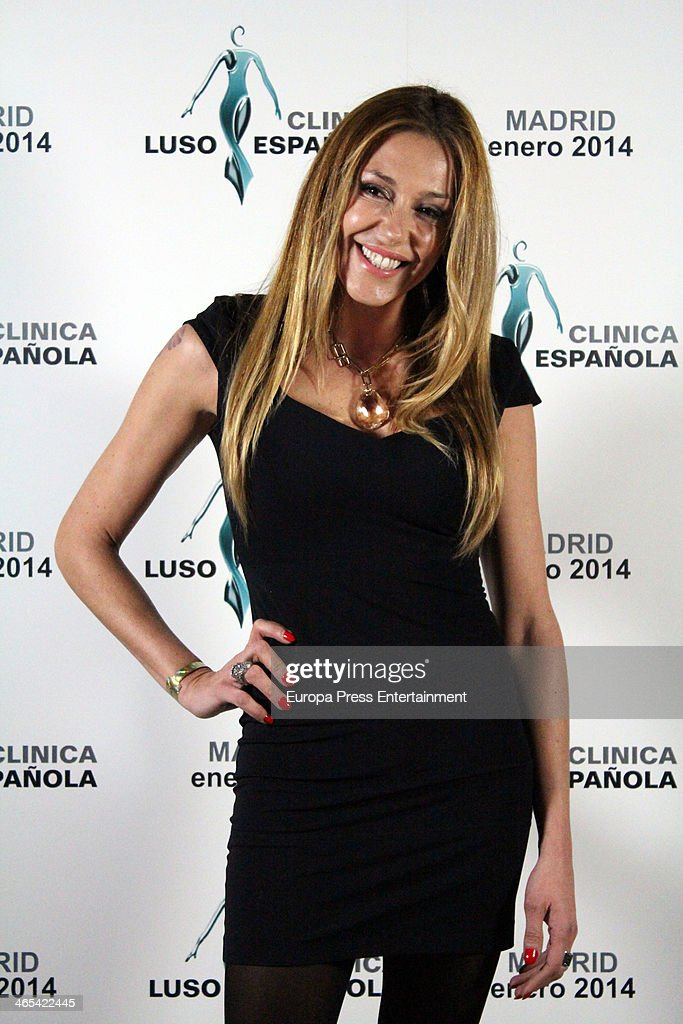 Cristiano Ronaldo's Family and Ex Girlfriend Attend Luso-Espanhola Clinic Opening in Madrid : News Photo
