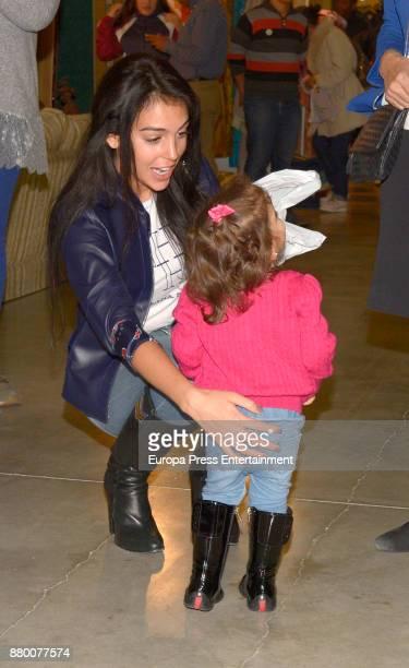 Cristiano Ronaldo's girlfriend Georgina Rodriguez attends the charity market 'Rastrillo Nuevo Futuro' on November 24 2017 in Madrid Spain