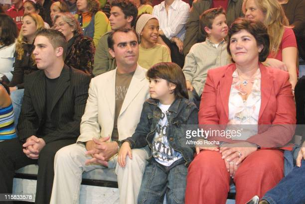 """Cristiano Ronaldo's mother and guests during Cristiano Ronaldo on """"Herman SIC"""" TV show at Portugal in Lisboa, Portugal."""