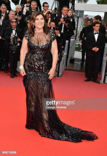 """Cristiano Ronaldo's mother Maria Dolores Aveiro attends the screening of """"Burning"""" during the 71st annual Cannes Film Festival at Palais des..."""