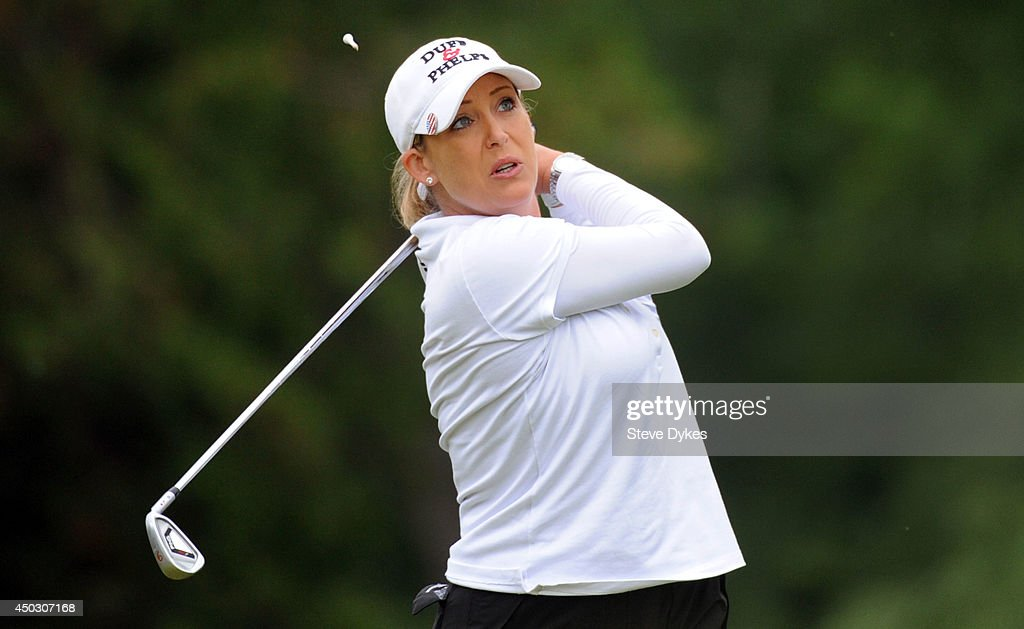 Cristie Kerr hits her drive on the third hole during the final round of the Manulife Financial LPGA Classic at the Grey Silo Golf Course on June 8, 2014 in Waterloo, Ontario, Canada.