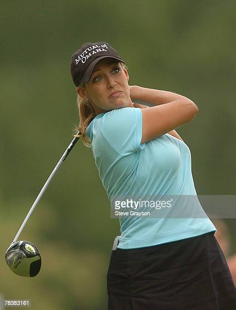 Cristie Kerr in action during the 2006 John Q Hammons Hotel Classic at the Cedar Ridge Country Club in Broken Arrow Oklahoma on September 10 2006