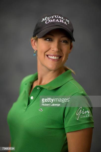 Cristie Kerr poses for a portrait at the LPGA Safeway International on March 21 2007 at the Superstition Mountain Golf and Country Club in Apache...