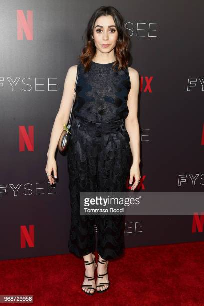 Cristin Milioti attends the FYSEE Event for Netflix's 'Black Mirror' at Netflix FYSEE At Raleigh Studios on June 6 2018 in Los Angeles California