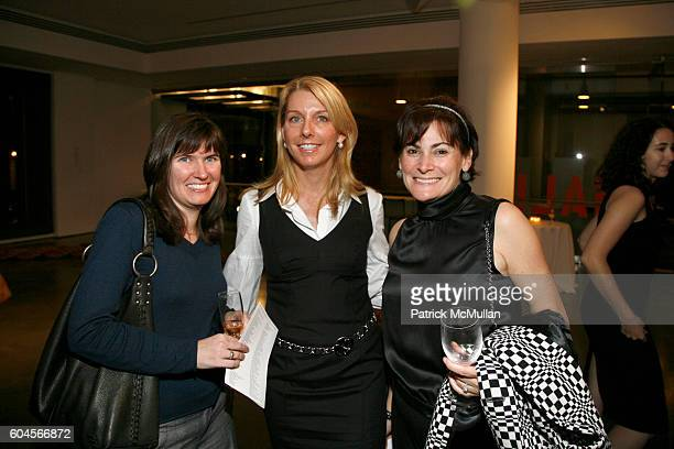 Cristin Tierney Jill Marino and Lisa PevaroffCohn attend Drawing Gifts 3rd Annual Benefit Auction for The Drawing Center at MILK Gallery on November...