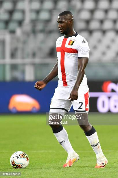 Cristián Zapata of Genoa CFC controls the ball during the Serie A match between Torino FC and Genoa CFC at Stadio Olimpico di Torino on July 16, 2020...