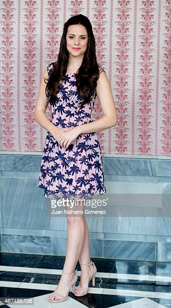 Cristina Abad attends 'Acacias 38' photocall during FesTVal Murcia 2015 on March 25, 2015 in Murcia, Spain.