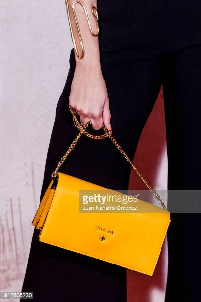 Cristina Abad attends 'El Cuaderno De Sara' premiere at the Capitol cinema on January 31 2018 in Madrid Spain