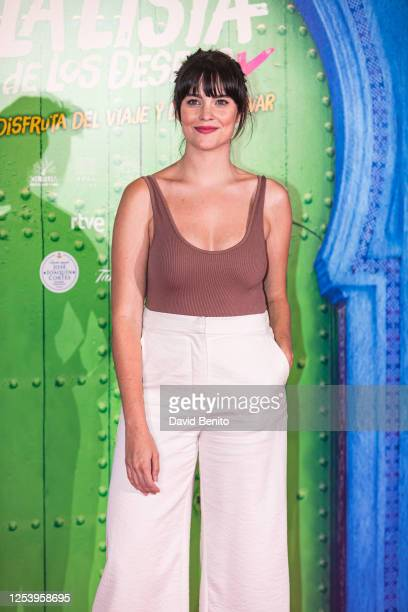 Cristina Abad attends 'La Lista de Los Deseos' Madrid Premiere photocall at Callao City Lights cinema on July 2 2020 in Madrid Spain This is the...