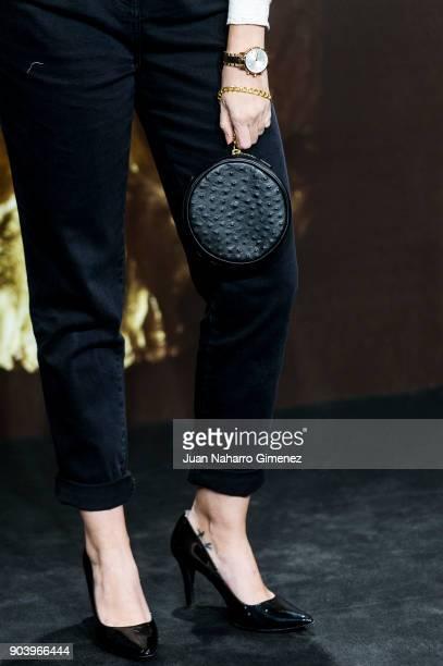 Cristina Abad attends 'La Peste' premiere at Callao Cinema on January 11 2018 in Madrid Spain