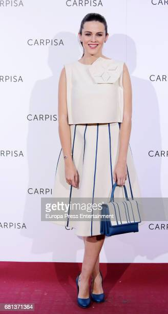 Cristina Abad attends the opening of new Carpisa stores on May 9 2017 in Madrid Spain