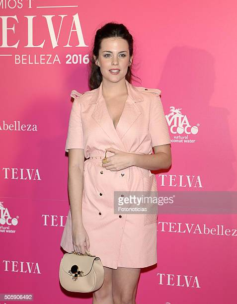 Cristina Abad attends the 'T De Belleza' Beauty Awards by Telva Magazine at The Ritz Hotel on January 20 2016 in Madrid Spain