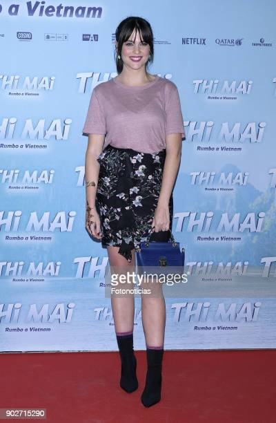 Cristina Abad attends the 'Thi Mai Rumbo a Viet Nam' premiere at Callao cinema on January 8 2018 in Madrid Spain