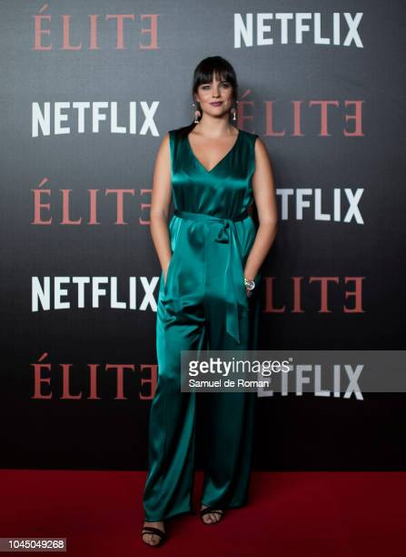 Cristina Abad attends the World Premiere of Netflixs 'Elite' at Nubel on October 2 2018 in Madrid Spai