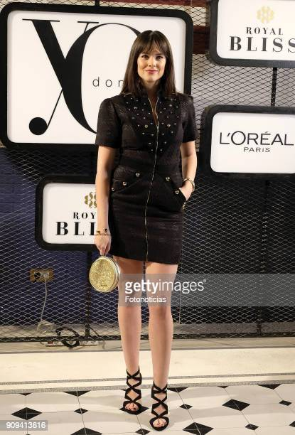 Cristina Abad attends the 'Yo Dona Fashion Party' at the Only You Hotel on January 23 2018 in Madrid Spain