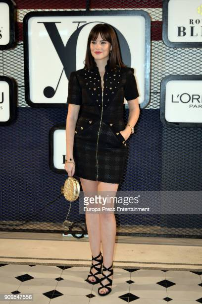 Cristina Abad attends the 'Yo Dona' party at Only You Hotel Atocha on January 23 2018 in Madrid Spain