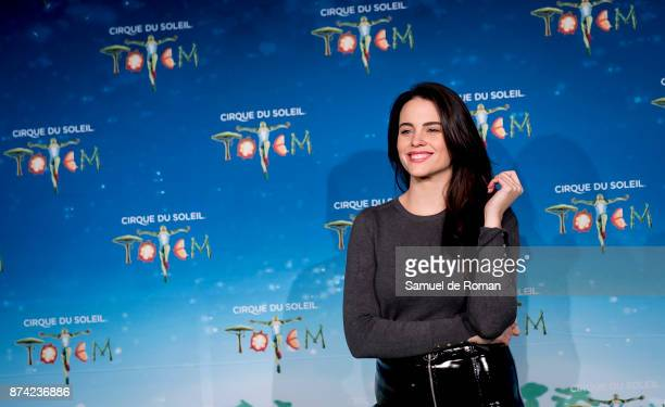 Cristina Abad during 'Cirque Du Soleil' Premiere in Madrid on November 14 2017 in Madrid Spain