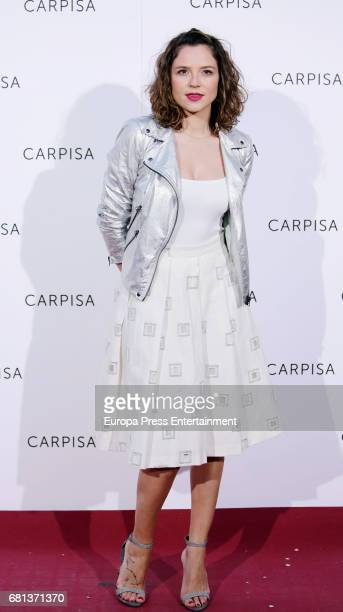 Cristina Alarcon attends the opening of new Carpisa stores on May 9 2017 in Madrid Spain