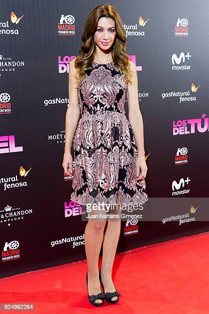 Cristina Alvis attends 'Los Del Tunel' premiere during the Madrid Premiere Week at Callao Cinema on November 21 2016 in Madrid Spain