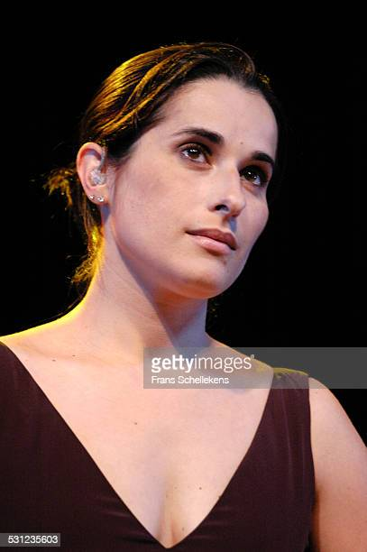 Cristina Branco, vocals, performs at the North Sea Jazz Festival on July 9th 2005 in Amsterdam, Netherlands.