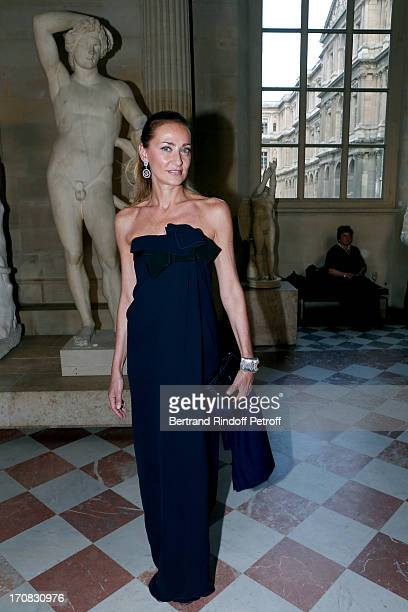 Cristina Buccelatti attends 'Liaisons Au Louvre III' Charity Gala Dinner Hosted by American International Friends of Le Louvre at Cour Carree du...