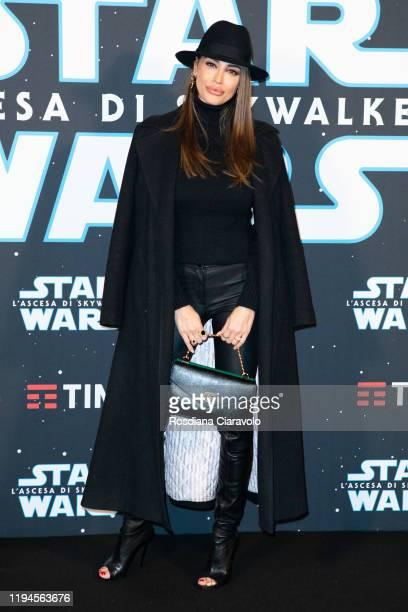 Cristina Buccino attends the special presentation of the movie Star Wars L'Ascesa Di Skywalker on December 17 2019 in Milan Italy