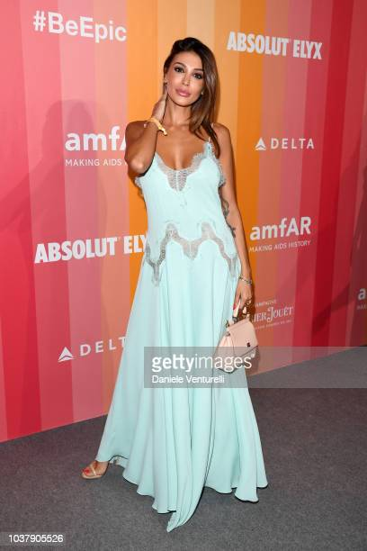 Cristina BuccinoCristina Buccino walks the red carpet ahead of amfAR Gala at La Permanente on September 22 2018 in Milan Italy