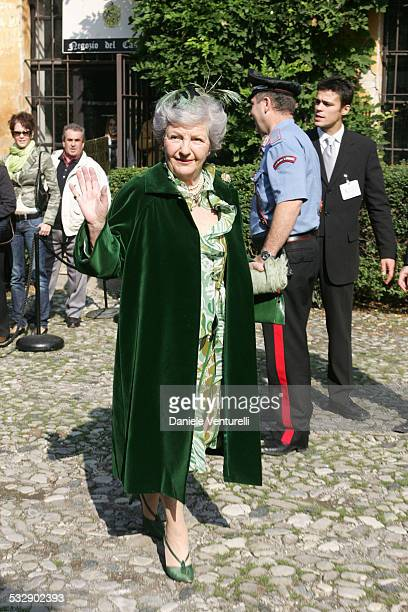 Cristina Camerana during The Wedding of Alexia Aquilani and Andrea Camerana October 9 2005 at Castello di Rivalta in Castello di Rivalta Piacenza...