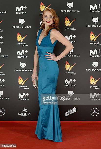 Cristina Castano attends the 2016 Feroz Awards ceremony at the Palacete de los Duques de Pastrana on January 23 2017 in Madrid Spain