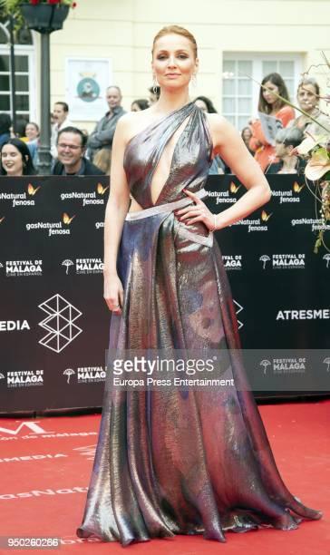 Cristina Castano during the 21th Malaga Film Festival closing ceremony at the Cervantes Teather on April 21 2018 in Malaga Spain