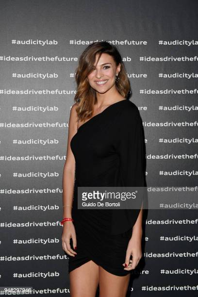 Cristina Chiabotto attends Audi City Lab Event on April 18 2018 in Milan Italy