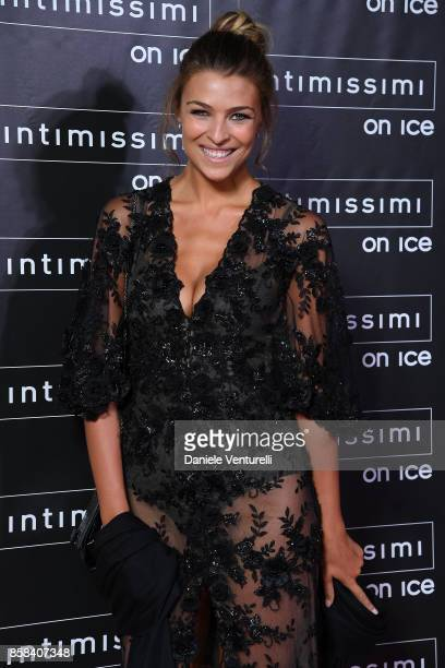 Cristina Chiabotto attends Intimissimi On ice 2017 on October 6 2017 in Verona Italy