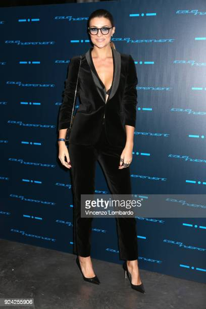Cristina Chiabotto attends Starlight An event by Italia Independent on February 25 2018 in Milan Italy