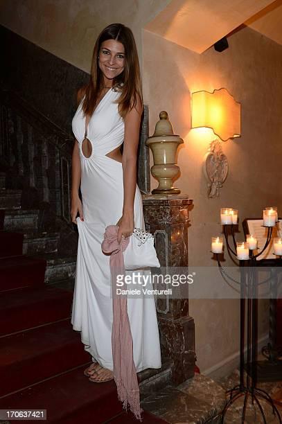 Cristina Chiabotto attends Taormina Filmfest 2013 Opening Gala Dinner at La Baronessa Ristorante on June 15 2013 in Taormina Italy