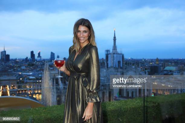 Cristina Chiabotto attends Terrazza Martini Milano Grand Opening at Top Roof Bar on May 15 2018 in Milan Italy