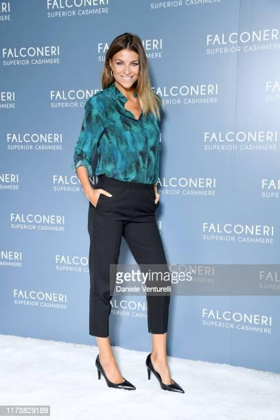 Cristina Chiabotto attends the Falconeri fashion show on September 11 2019 in Verona Italy