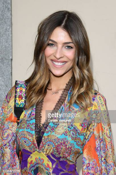 Cristina Chiabottoattends the Etro show at Milan Fashion Week Autumn/Winter 2019/20 on February 22 2019 in Milan Italy