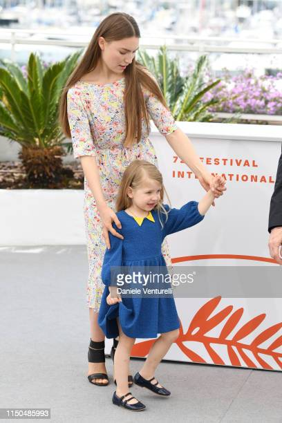 Cristina Chiriac and Anna Ferrara attend the photocall for Tommaso during the 72nd annual Cannes Film Festival on May 20 2019 in Cannes France