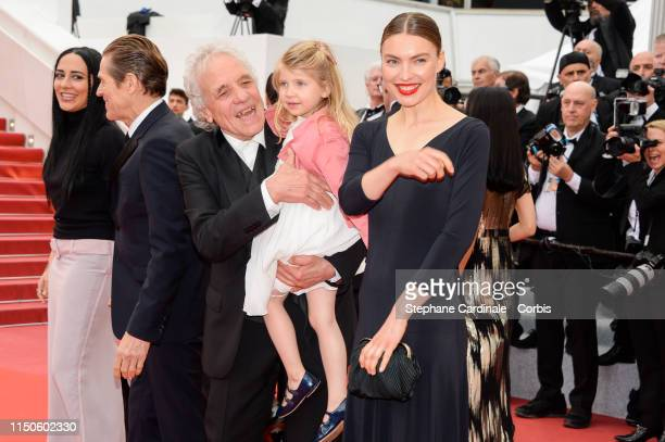 Cristina Chiriac Anna Ferrara Abel Ferrara attend the screening of Le Belle Epoque during the 72nd annual Cannes Film Festival on May 20 2019 in...