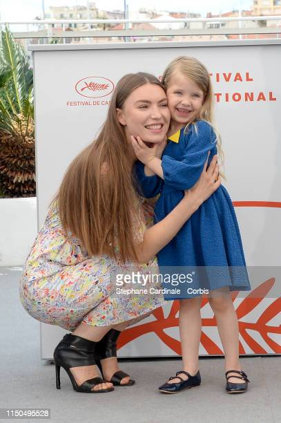 Cristina Chiriac Anna Ferrara attend the photocall for Tommaso during the 72nd annual Cannes Film Festival on May 20 2019 in Cannes France