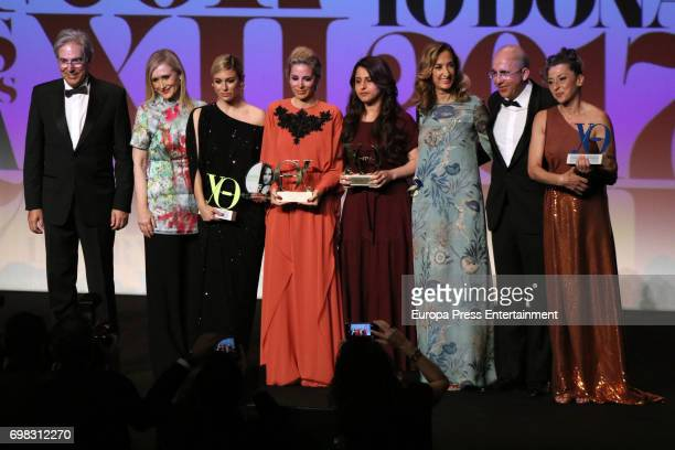 Cristina Cifuentes Blanca Suarez Alejandra Silva Nareen Shammo Marta Michel Francisco Rosell and Mariola Fuentes attend the 'Yo Dona' International...