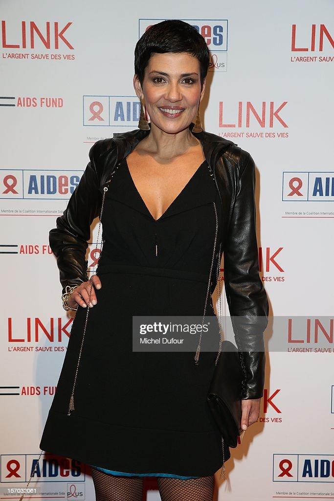 Cristina Cordoba attends the AIDES International Gala Dinner at Grand Palais on November 27, 2012 in Paris, France.