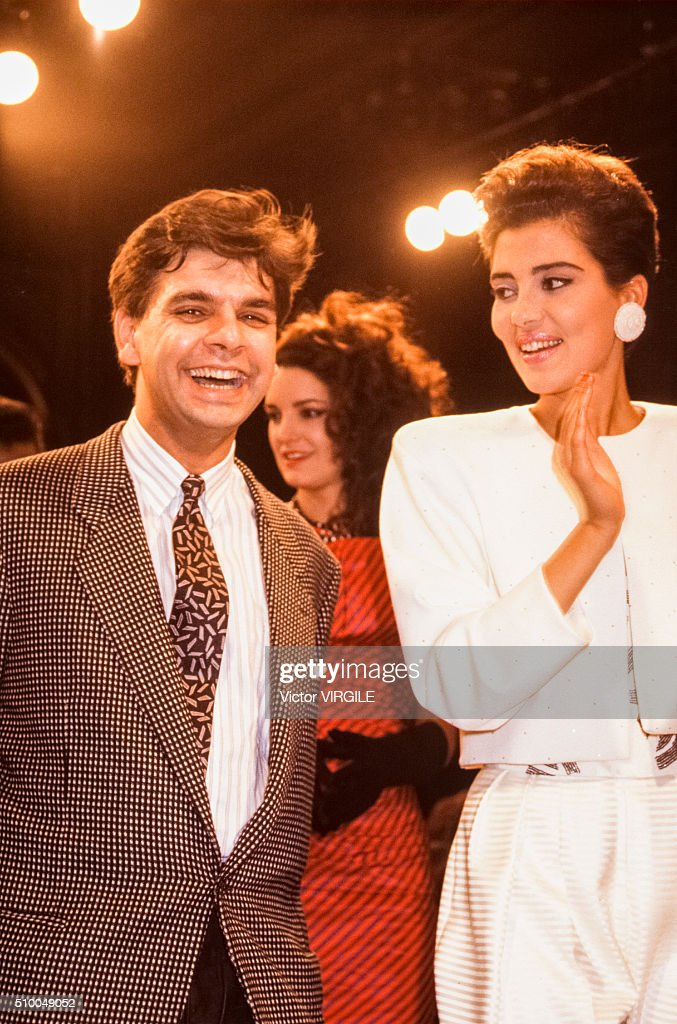 Lecoanet Hemant - Runway - Haute Couture Spring/Summer 1986-1987 : News Photo