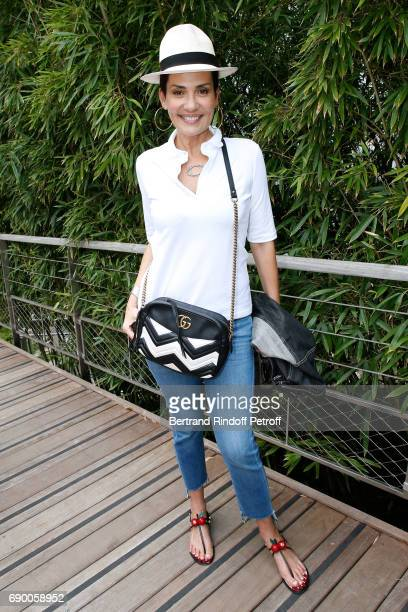 Cristina Cordula attends the 2017 French Tennis Open Day Three at Roland Garros on May 30 2017 in Paris France