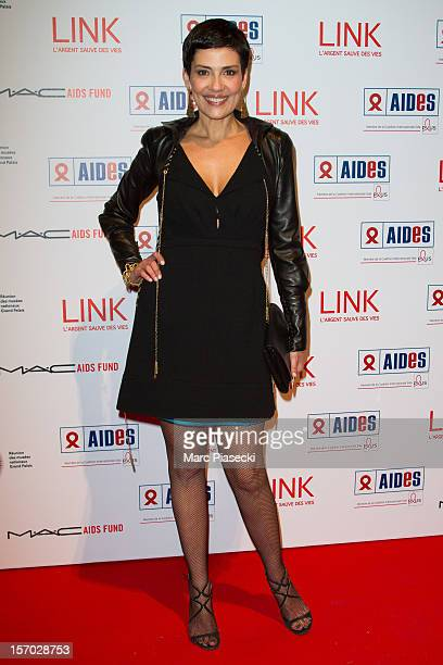 Cristina Cordula attends the LINK dinner for AIDS '100 photographes se mobilisent contre le Sida' at Grand Palais on November 27 2012 in Paris France